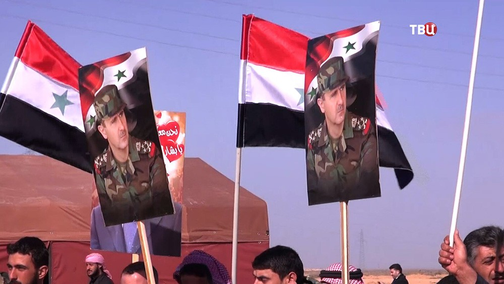 Флаги Сирии