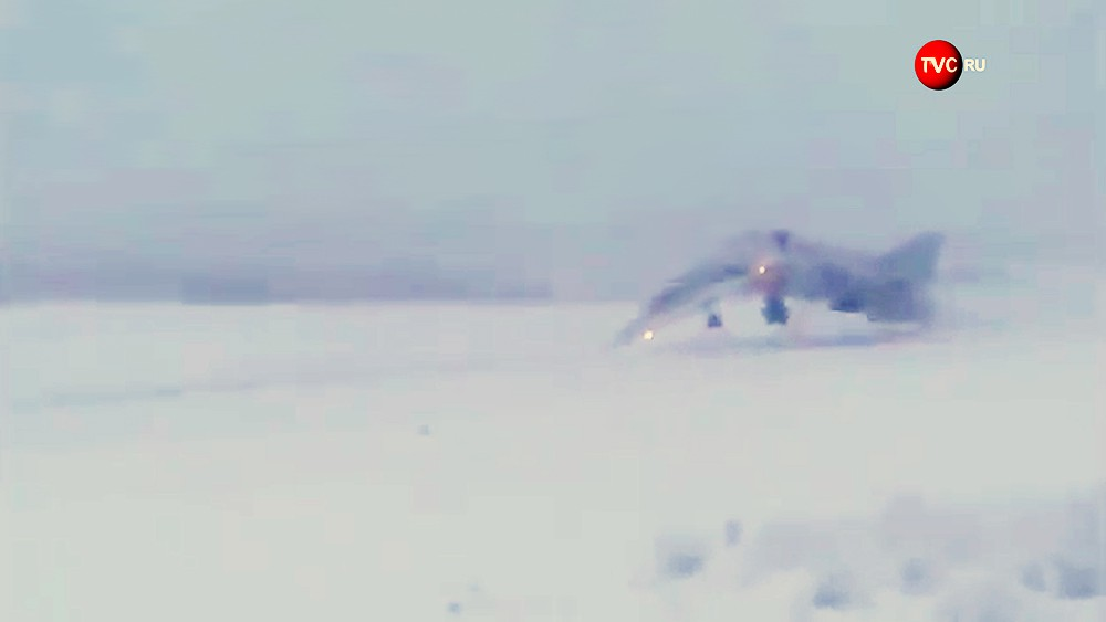 Момент крушения Ту-22М3