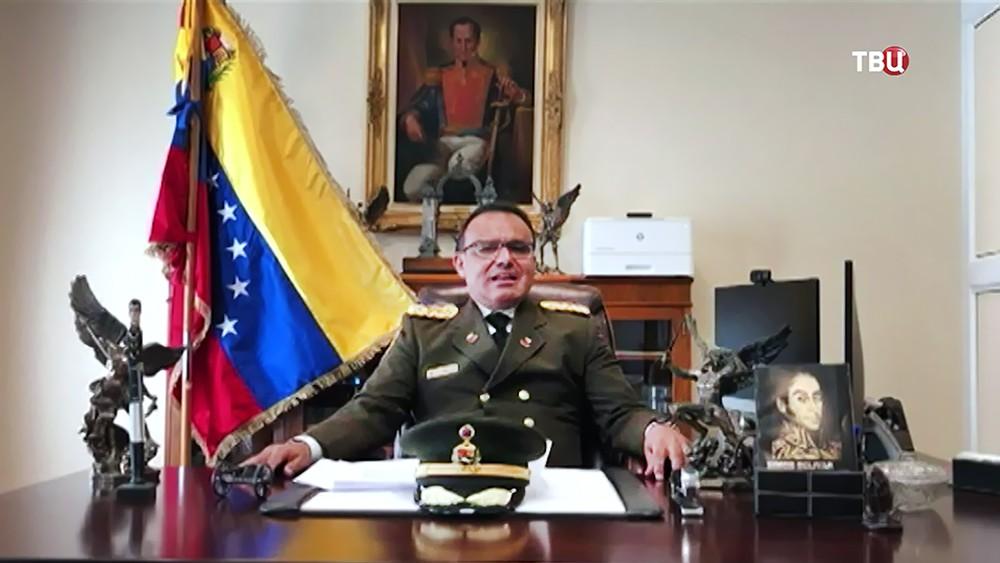 Полковник Венесуэльской армии Хосу Луис Сильва