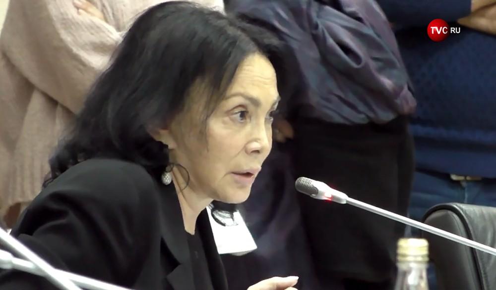 Председатель Совета при губернаторе Московской области по развитию гражданского общества и правам человека Марина Юденич