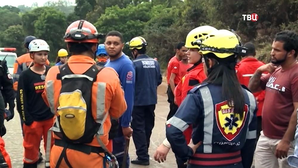 Спасатели Бразилии