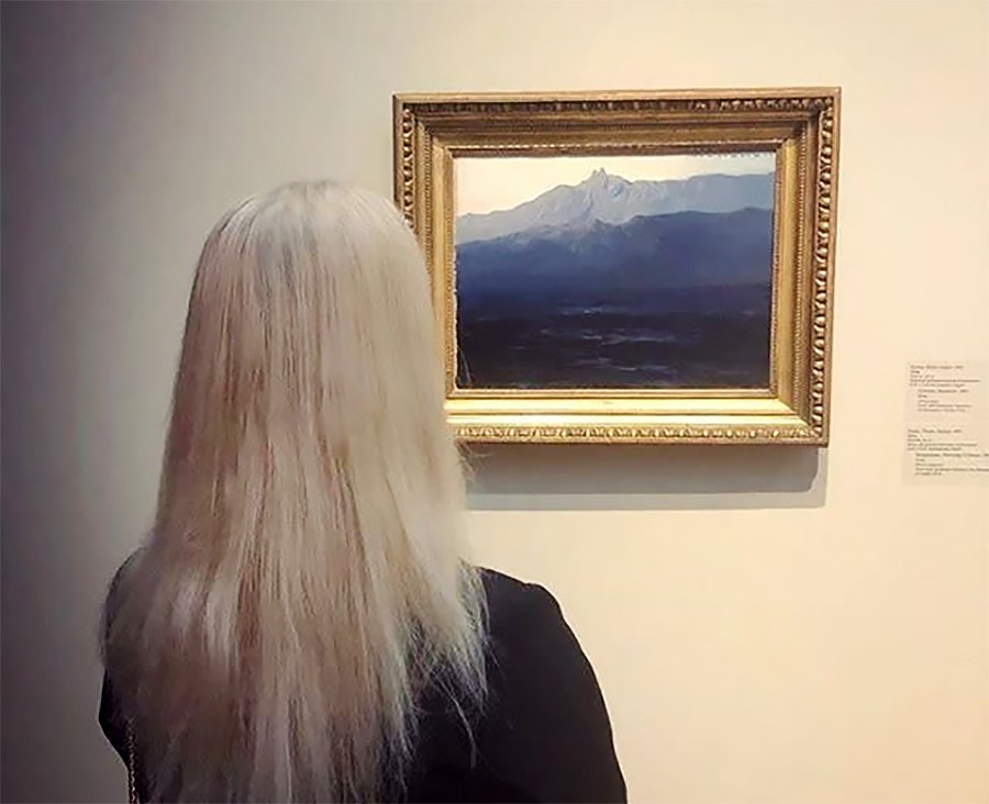 "Картина Архипа Куинджи ""Ай-Петри. Крым"" до похищения"