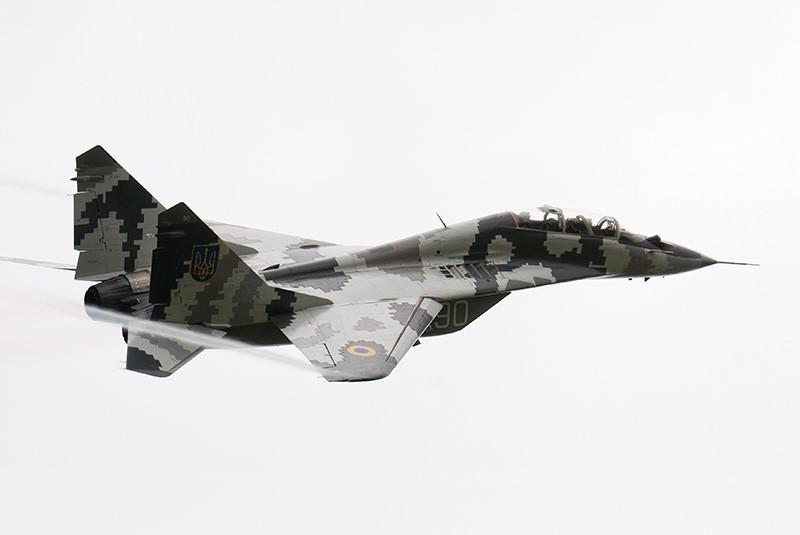 Истребитель МиГ-29 ВВС Украины