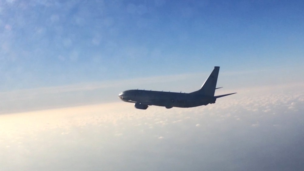 Российский истребитель прогнал разведчика США над Балтикой
