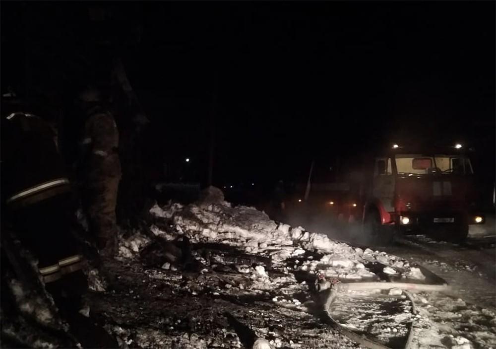 Пожар на Урале