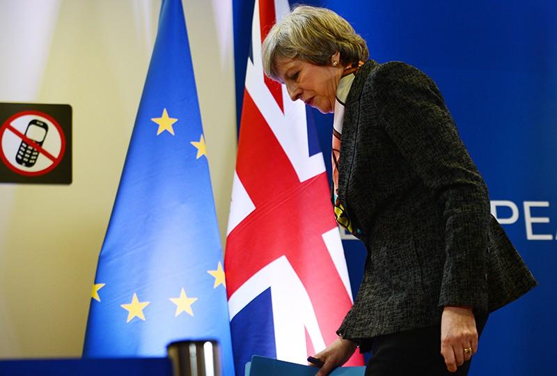 Британский премьер-министр Тереза Мэй