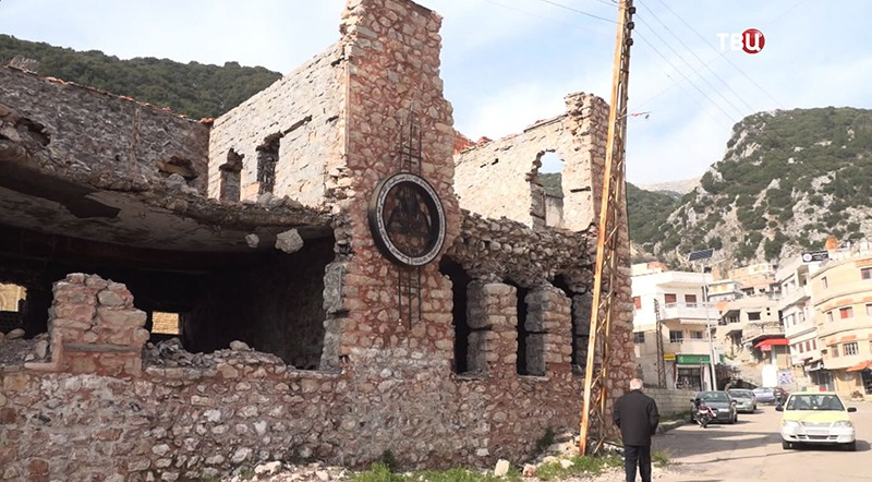 Восстановление храма святой Троицы