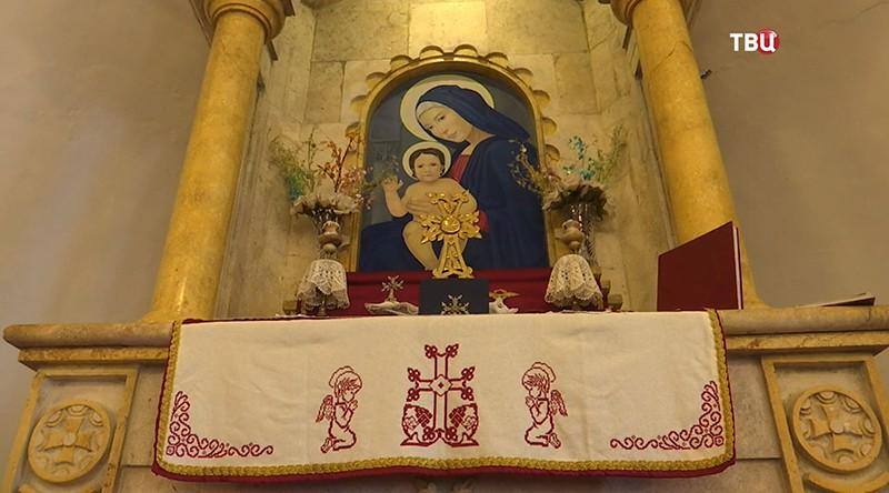 Икона в Сирийском храме