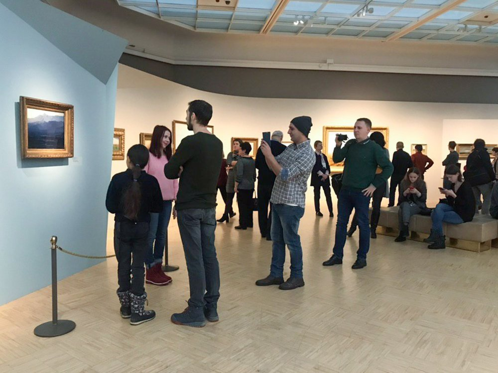 Возвращенная картина Архипа Куинджи «Ай-Петри. Крым» в Третьяковской галерее