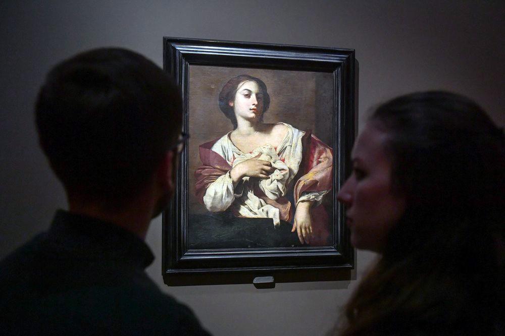 """Выставка """"Гости из Неаполя. Артемизия Джентилески и современники"""""""