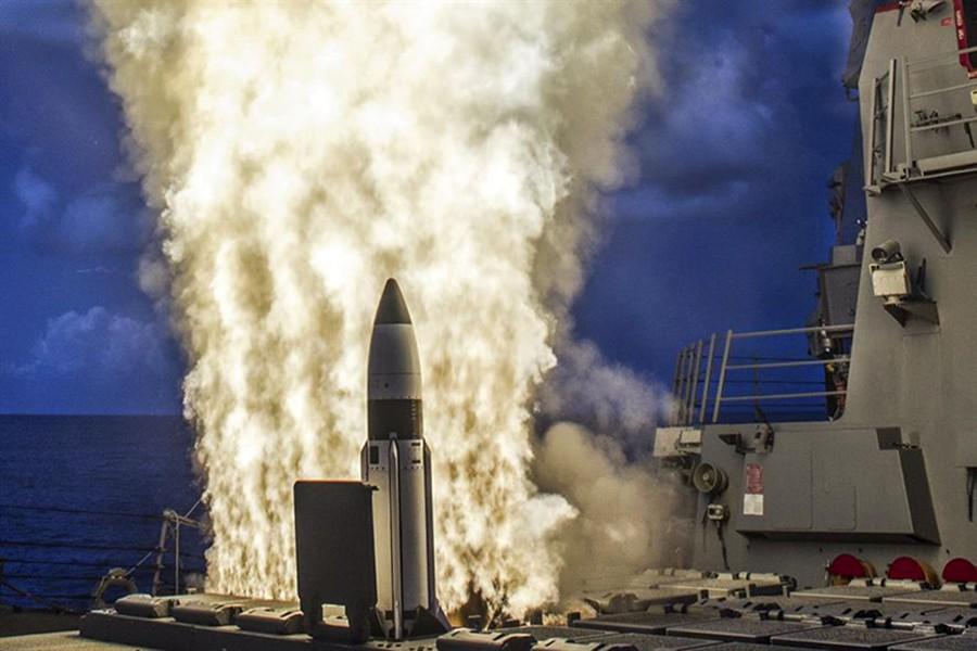 Пуск ракеты США