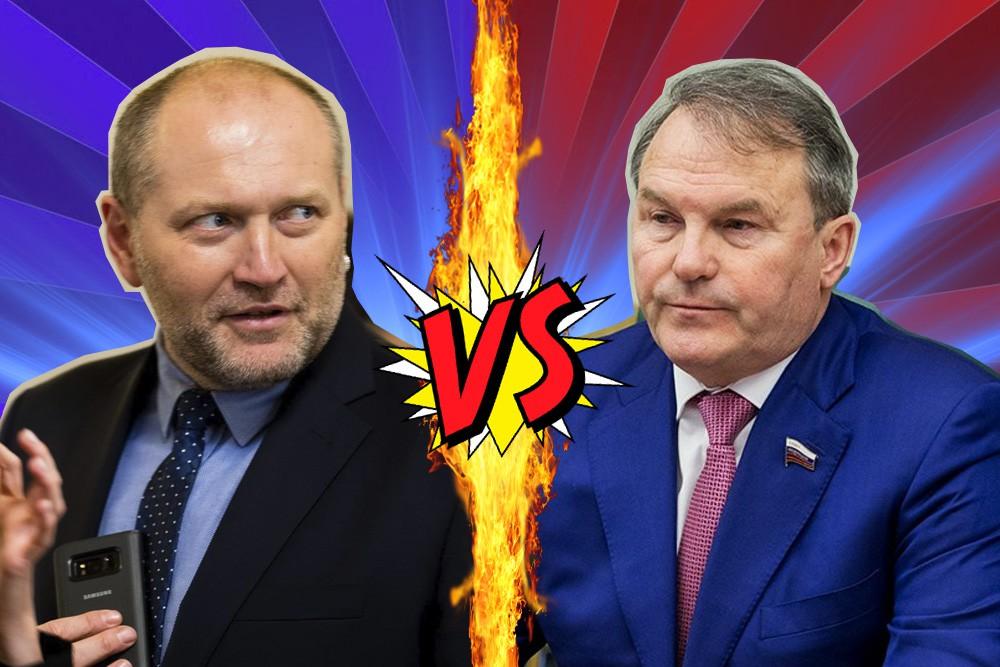 Борислав Береза и Игорь Морозов