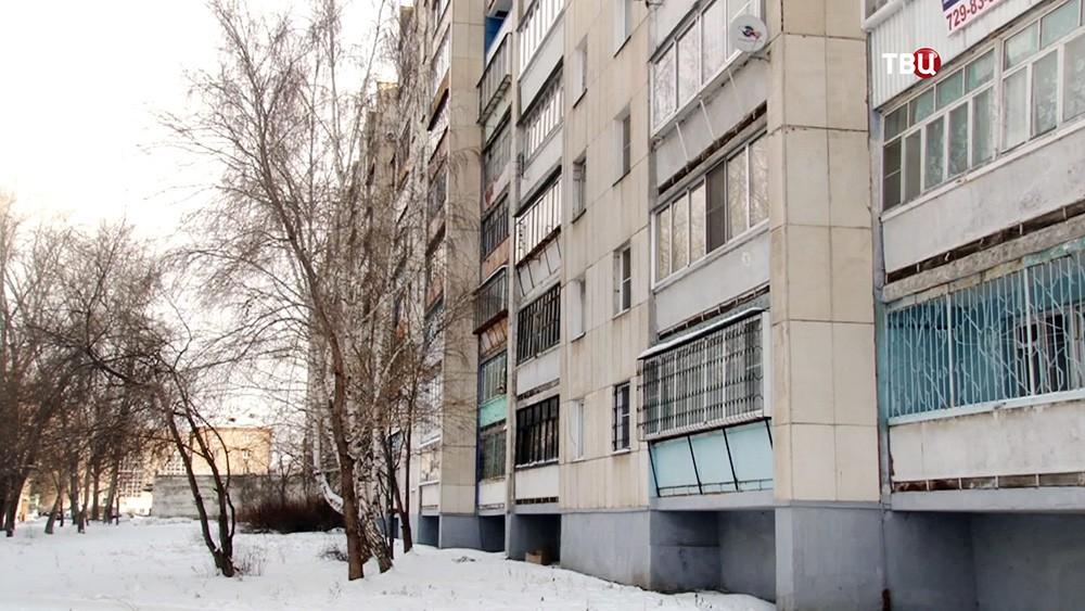 Дом, где жил псевдоврач из Челябинска Борис Кондрашин