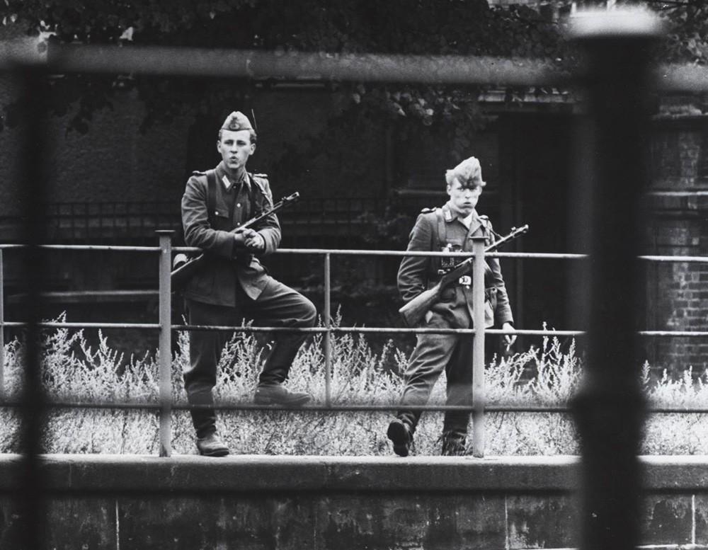 Советские солдаты в Восточном Берлине
