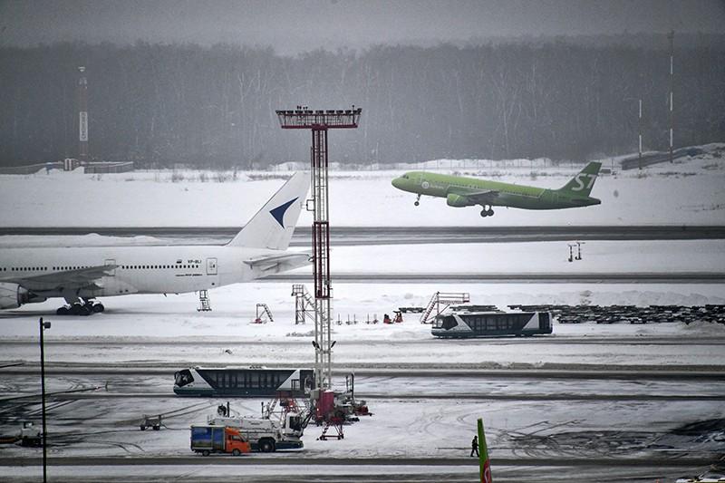 Самолет компании S7 Airlines
