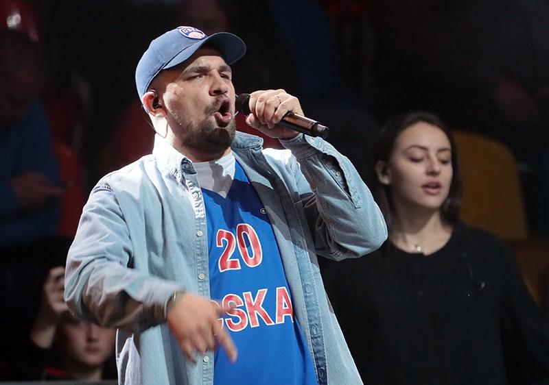 Рэп-исполнитель Василий Вакуленко (Баста)