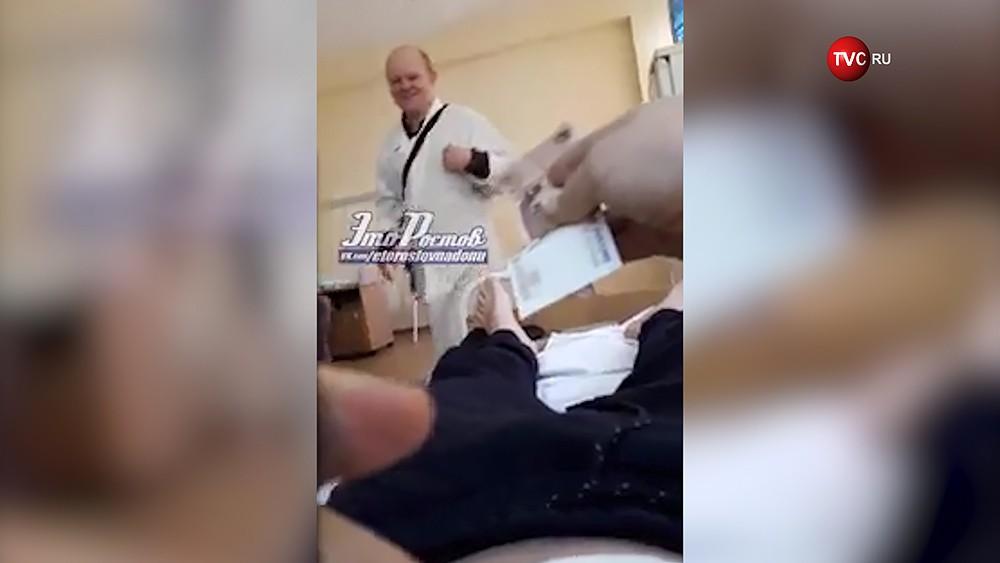 Платный просмотр телевизора в ростовской больнице