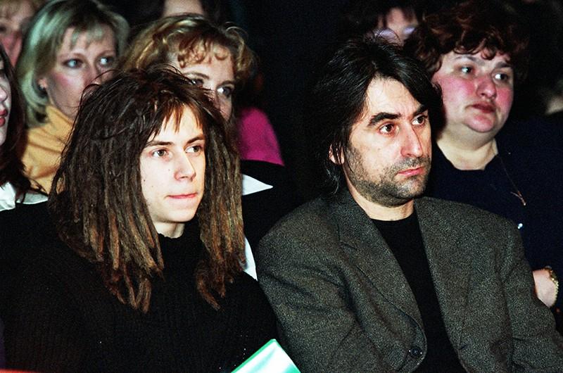 Децл (Кирилл Толмацкий) со своим отцом Александром Толмацким