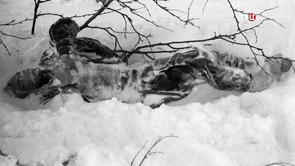 Место гибели группы Дятлова