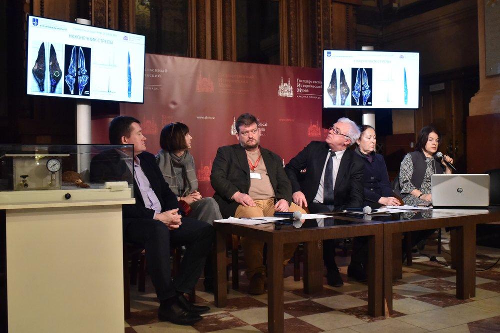 Презентация деятельности и научных открытий отдела археологических памятников Исторического музея