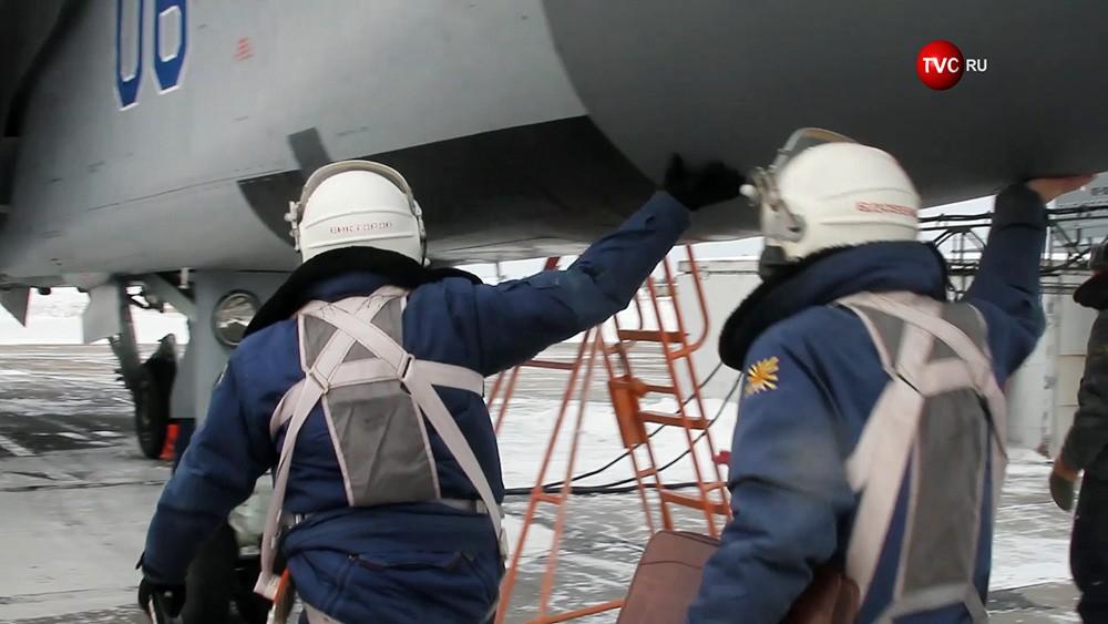 Пилоты истребителя ВКС России МиГ-31