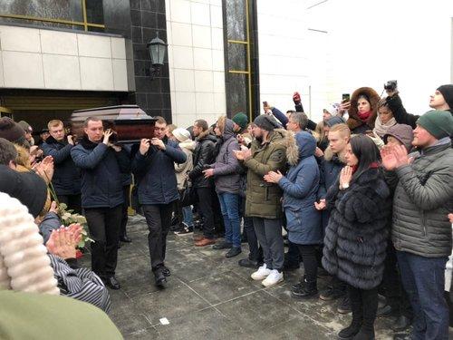Церемония прощания с российским рэпером Кириллом Толмацким (Децл)