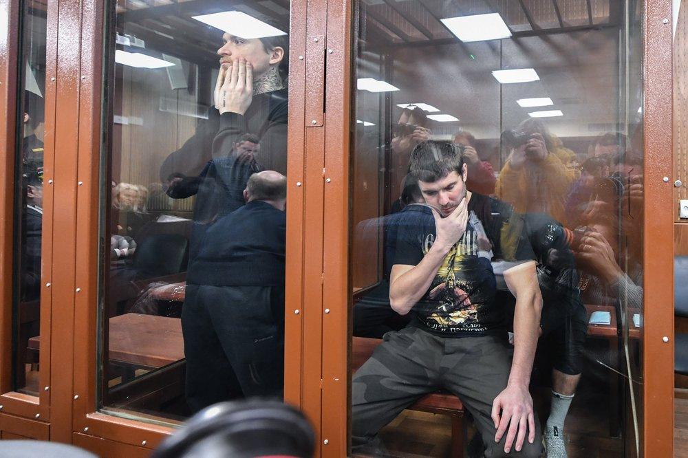 Павел Мамаев и Александр Протасовицкий в суде