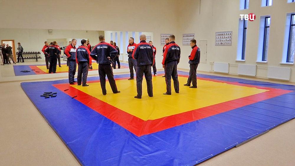 Тренировочный зал в ОВД