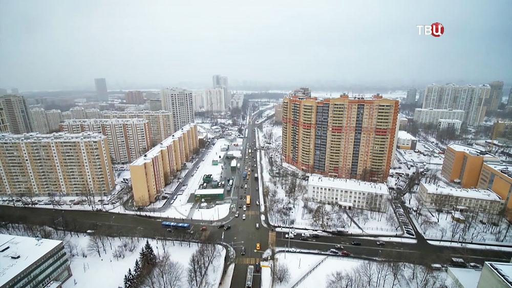 Левобережный район Москвы