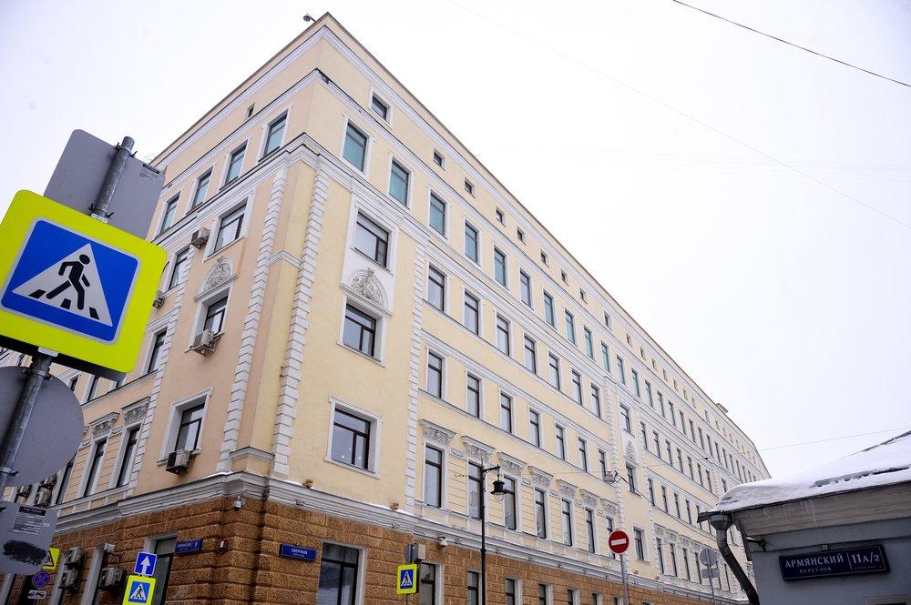 Бывший доходный дом купца Константинова после реставрации