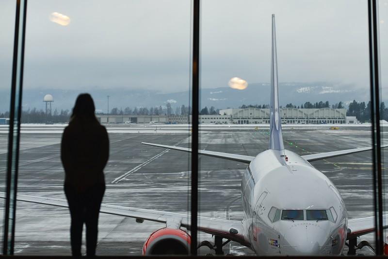Самолет Norwegian Air в аэропорту