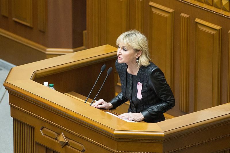 Представитель президента Украины в Верховной Раде Ирина Луценко