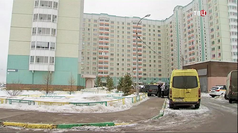 Дом, где жили опекуны погибшего ребенка из Подольска