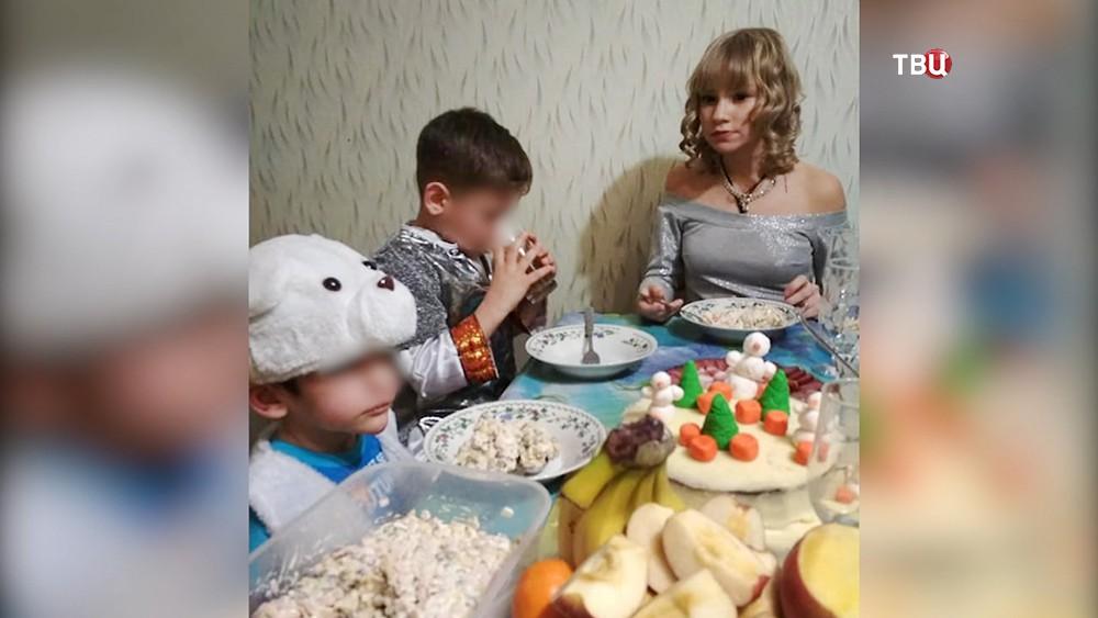 Многодетная семья из Подольска, где погиб ребенок