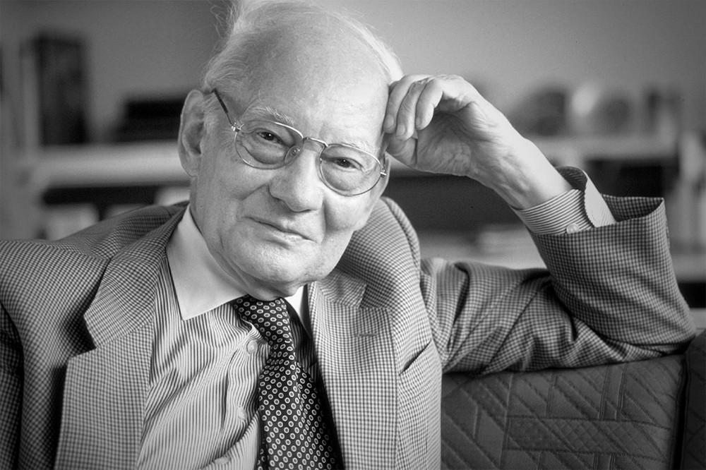 Лауреат Нобелевской премии по химии Манфред Эйген