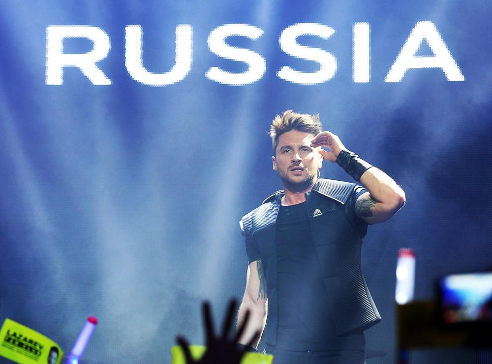 Российский певец Сергей Лазарев