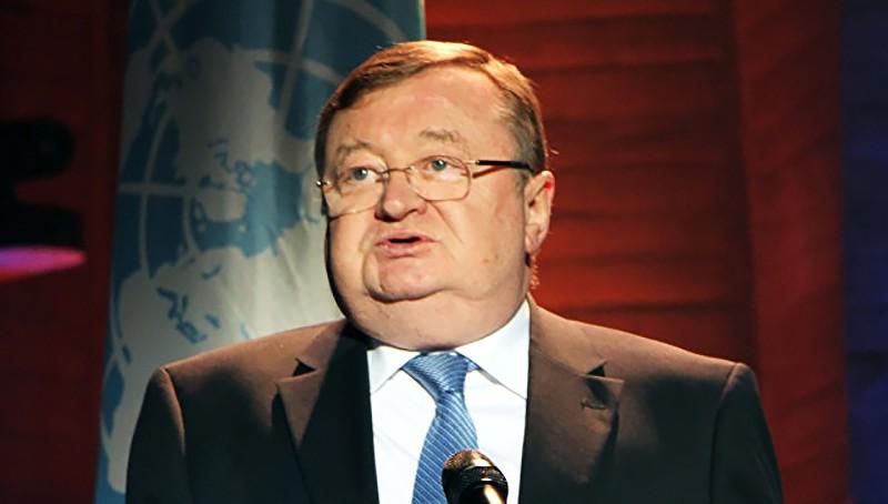 Постпред России при ЮНЕСКО Александр Кузнецов