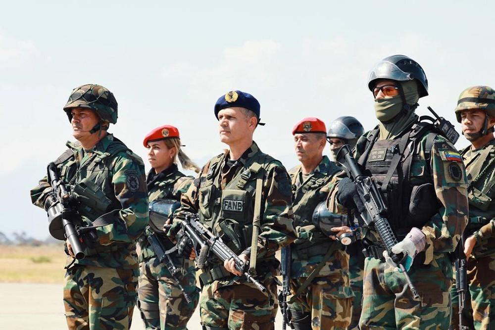 Военнослужащие армии Венесуэлы