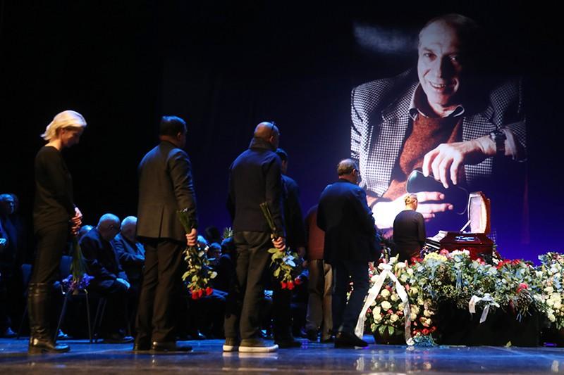 Церемония прощания с актером Сергеем Юрским