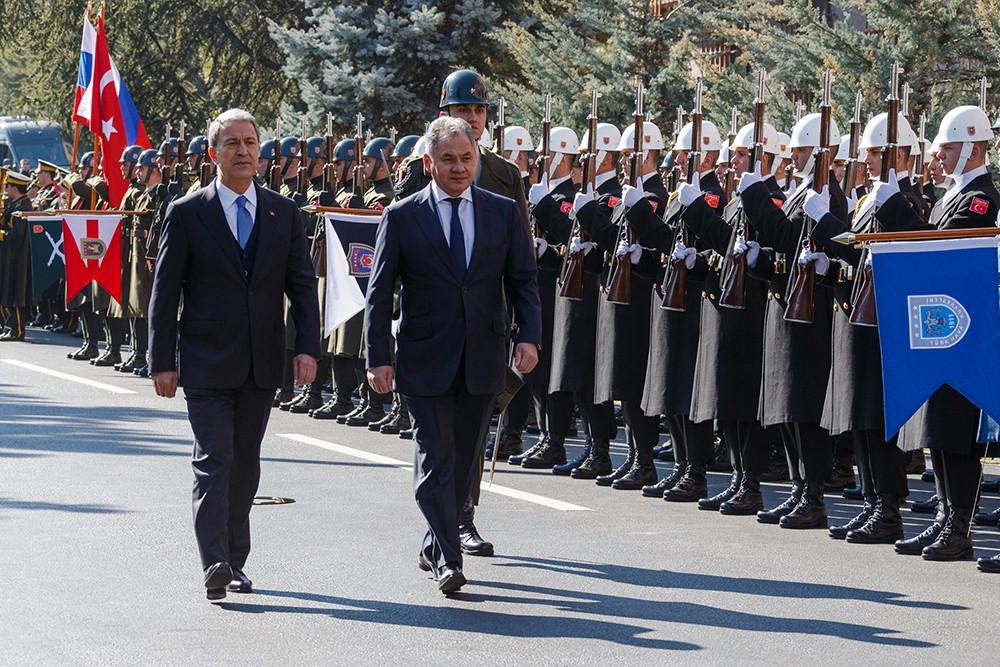 Рабочий визит Сергея Шойгу в Турцию