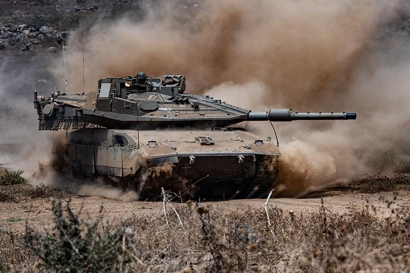 Израильский танк Merkava