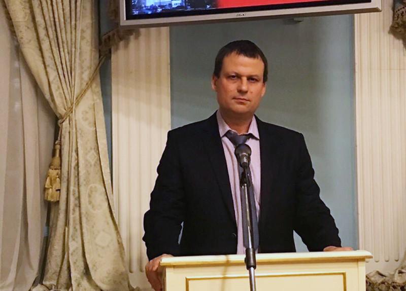 Сотрудник Центра противодействия коррупции Дмитрий Грибов