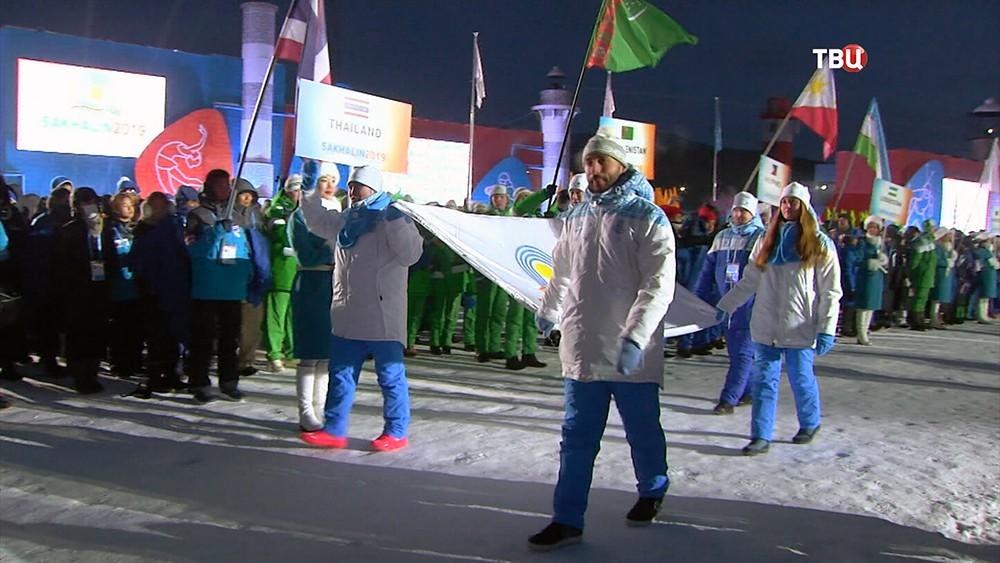 """Первые зимние спортивные игры """"Дети Азии"""""""