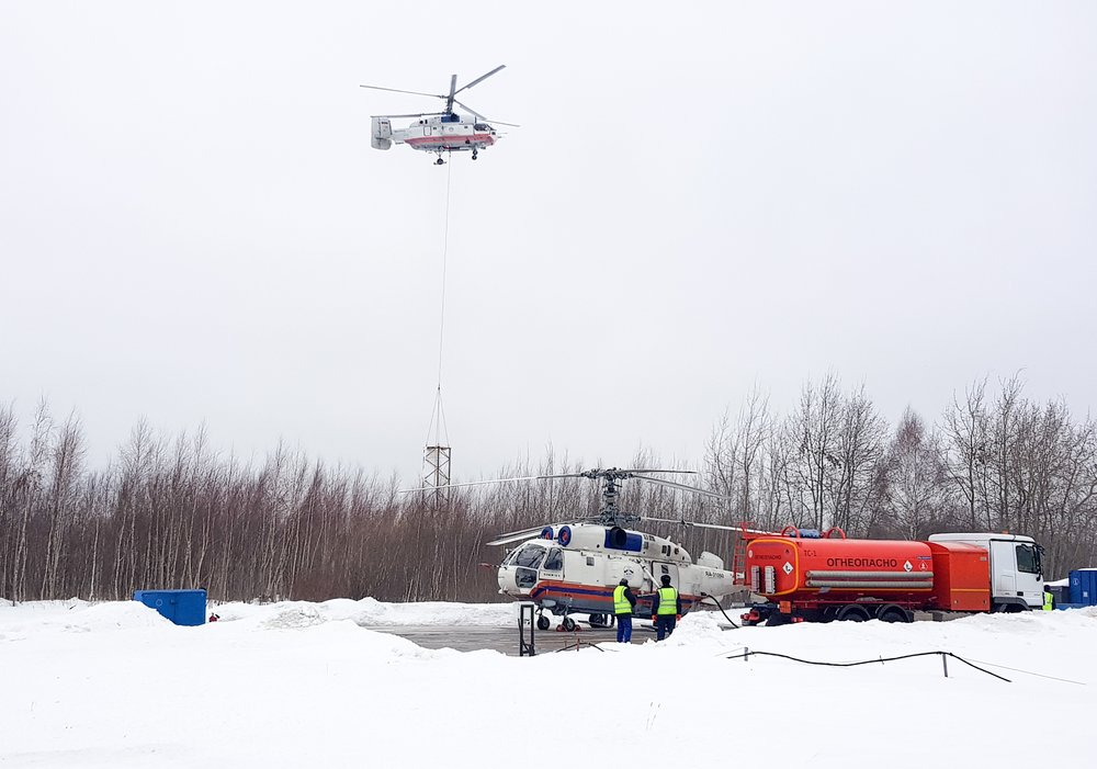 Вертолеты Московского авиационного центра