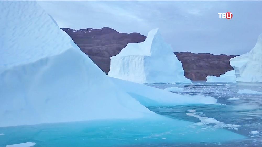 Льдины Гренландии