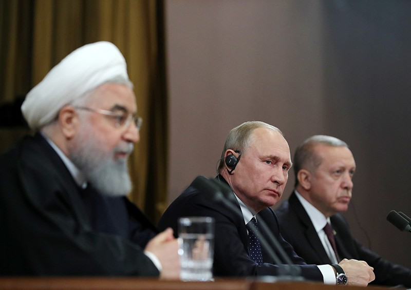"""""""Астанинская тройка"""" наметила будущее Сирии"""
