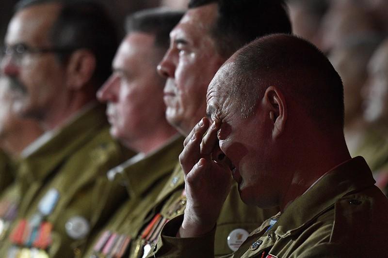 Ветераны войны в Афганистане