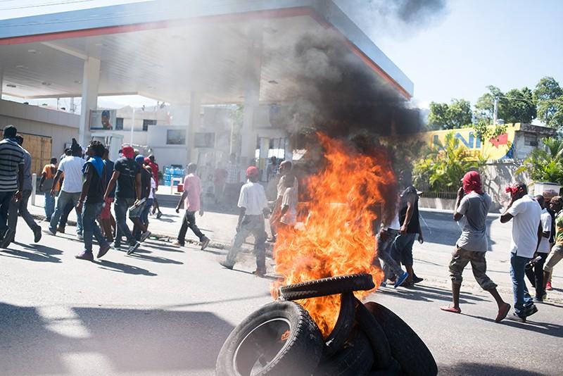Протесты в Гаити