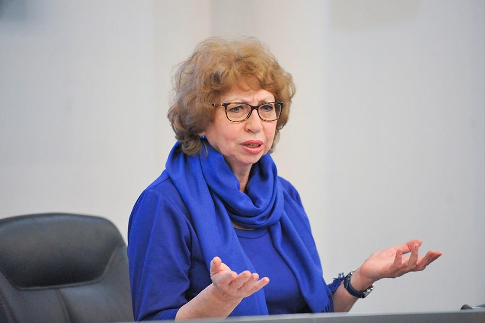 Научный директор Московского планетария Фаина Рублёва
