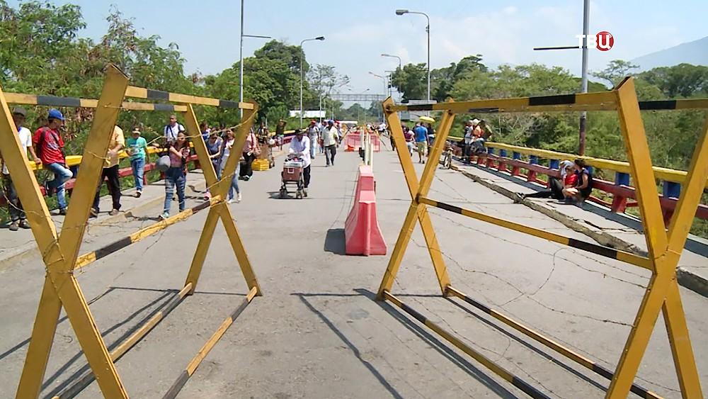Мост между Венесуэлой и Колумбией
